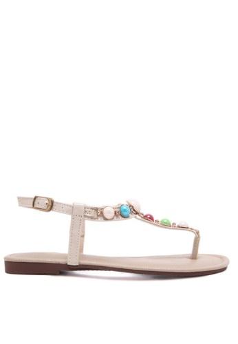 Twenty Eight Shoes white Sugar Free Sandal TW446SH94WFTHK_1