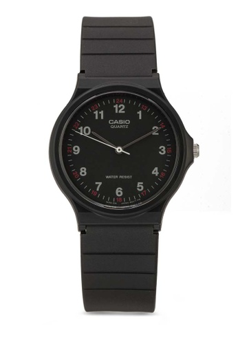Casio black Casio Casual Classic Black Watch MQ-24-1BLDF CA843AC54XIVMY_1
