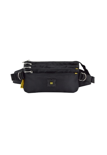 EXTREME black Extreme Waist Bag Adventure Hiking Casual Travel Chest Bag Multifunction Crossbody Shoulder Fanny Pack iPhone 8 Plus 72D2DAC3440E78GS_1