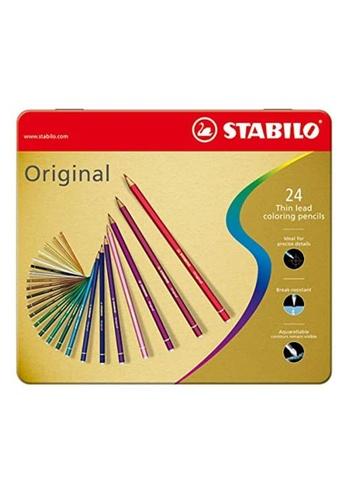 Stabilo STABILO Original Thin Lead Coloring Pencils 24-Color Set B771FHL32D4225GS_1