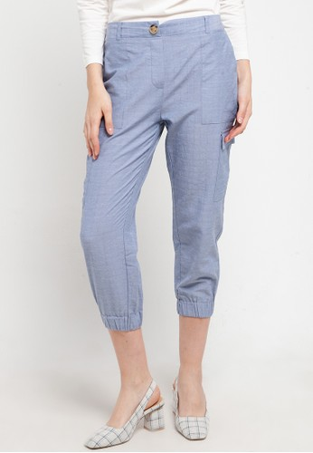 Point One blue JUSTIN Jogger Pant B 40B26AA0CCD388GS_1
