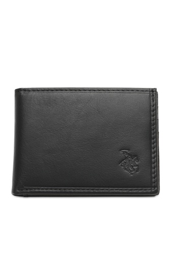 Swiss Polo black RFID Casual Wallet 029F4ACFD30EFEGS_1