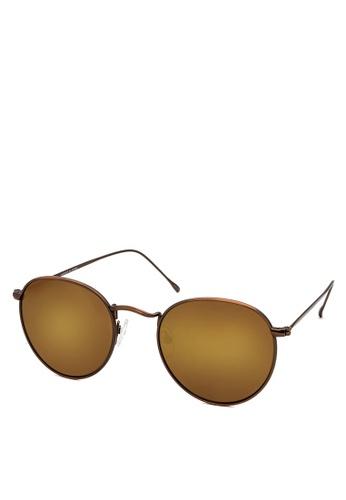 HEX EYEWEAR brown Carrier No.0506 Sunglasses Eyewear A2F98GL42C0382GS_1