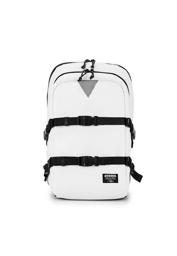 Peeps white and multi Cat's Eye Backpack C226FACD75A7EEGS_1