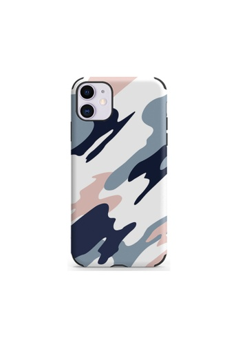 Kings Collection white Camouflage Pattern iPhone 12 Pro / 12 Case (KCMCL2403) 00AD7ACEAC2711GS_1