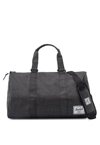 Herschel black Novel Duffle Bag F0D74AC190E266GS_1