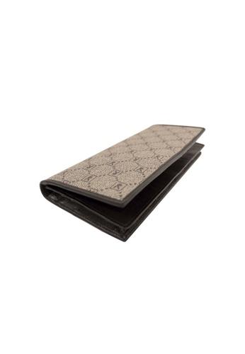 Playboy brown Rfid Blocking Bi-Fold Long Wallet 242E1AC8EAD89FGS_1