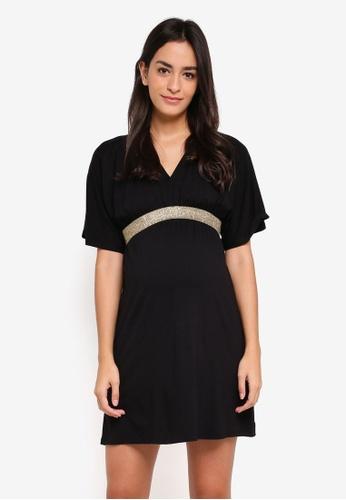 Envie De Fraise black Maternity Felicineor Dress C1B3EAADBEAFE5GS_1