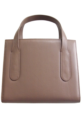 72 SMALLDIVE brown 72 Smalldive Womens Women Large Pebbled Calf Leather Tote Bag In Taupe 6AF95AC85EDC92GS_1