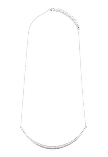Keren 簡約牌飾項鍊,zalora是哪裡的牌子 飾品配件, 飾品配件