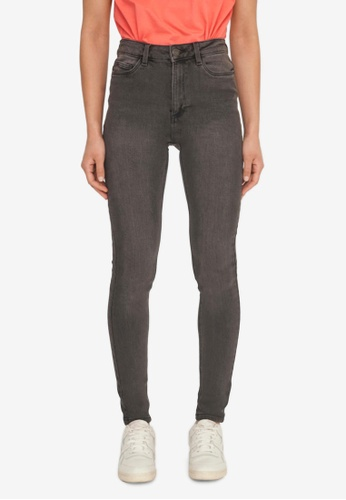 Noisy May grey Callie Chic Skinny Jeans 22D26AAFEC2948GS_1