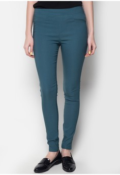 Colored Slip-On Pants
