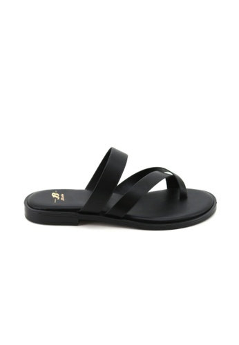 Bata Bata Women Black Sandals - 5616684 B6B3ESHAF7C6D9GS_1