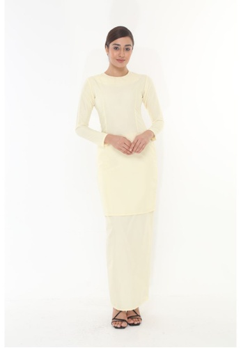 Amar Amran yellow Baju Kurung Moden Qasandra BE69CAAFE1FC85GS_1