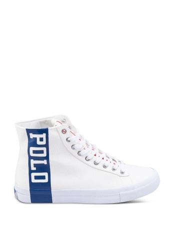 polo ralph lauren beige Solomon II Sneakers 03DEDSH1500C06GS_1