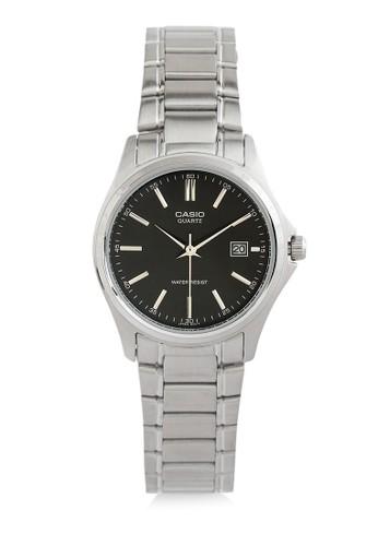 Casio silver Casio Jam Tangan Wanita - Silver Black - Stainless Steel - LTP-1183A-1ADF 48AD1AC2BF373AGS_1