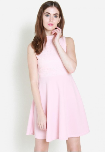 Sophialuv pink Take The Cake Dress in Rose 0F6F2AAC371F15GS_1