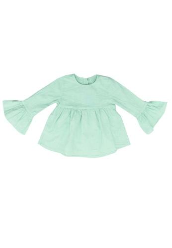 LC Waikiki green Cotton Blouse BA647KA90ECF5BGS_1