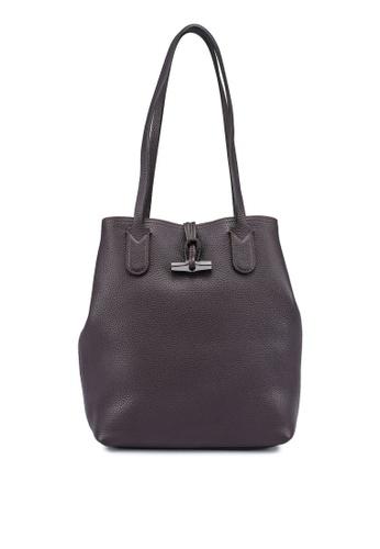 LONGCHAMP purple Roseau Essential Tote Bag (zt) 997B2AC7C4AB1CGS_1