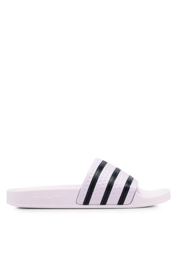 ad2715cdf16 Buy adidas adidas originals adilette w sliders Online on ZALORA ...