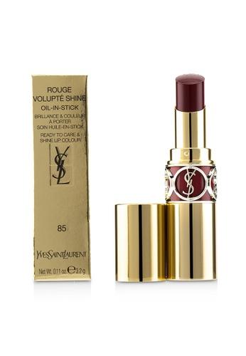 Yves Saint Laurent YVES SAINT LAURENT - Rouge Volupte Shine - # 85 Burgundy Love 3.2g/0.11oz 1F82DBE3EB138BGS_1