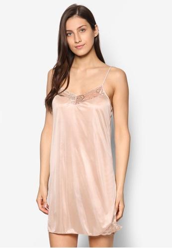 Impression beige Lacey Nightdress IM679AA00WZNMY_1