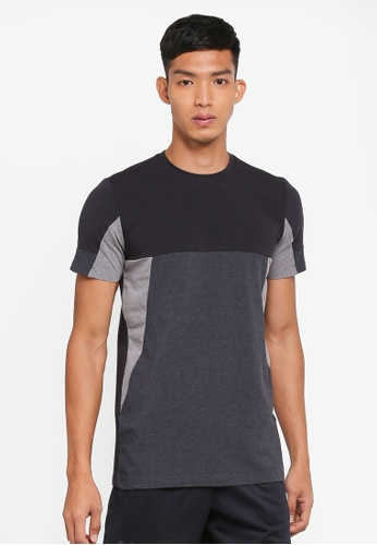 Under Armour grey Sportstyle Colorblock T-Shirt UN337AA0SU74MY_1