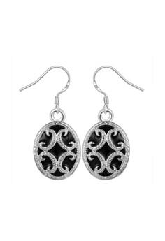 Sansa Silver Plated Earrings