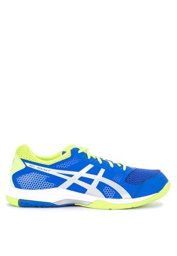 Asics blue Gel-Rocket 8 Sneakers 8C9E9SH2E4E142GS_1