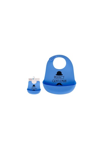 Little Kooma blue Baby's Silicone Bib 00585 - 0729 9238AKC70678B0GS_1