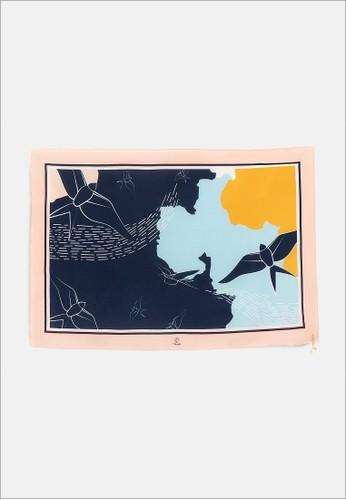 1 PEOPLE blue Amelia Earhart - Twilly Scarf 7D64DAADF24897GS_1