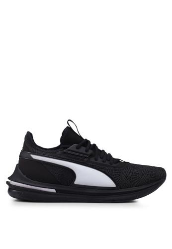 Puma black Ignite Limitless SR-71 Running Shoes 613C8SHA60E119GS_1