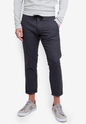 ESPRIT 灰色 Woven Length Service Pants 96E46AA95606C3GS_1