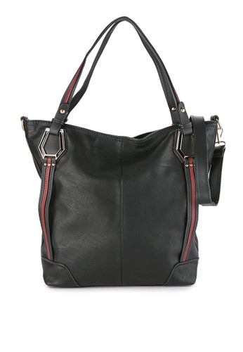 HUER black Wansy Tote Bag 955C0ACDCCF676GS 1 1814fc7688