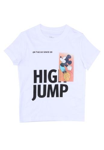 FOX Kids & Baby white Mickey High Jump T-Shirt 6E7B5KAFB3AFA0GS_1