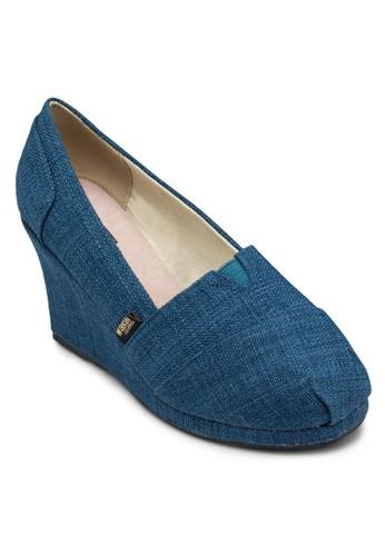 Shingeta 簡約編織楔形鞋, 女鞋, esprit tw中跟