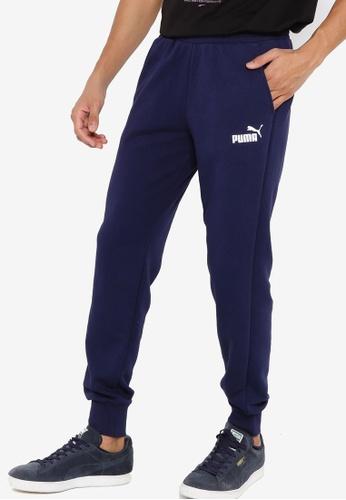 PUMA navy Essentials Logo Men's Sweatpants 58E76AA7707CA9GS_1