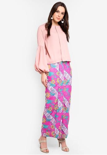 Buy FLEURÉ Aquiver Kurung Batik Bunga Parang Online on ZALORA Singapore a7e051aaff