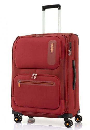 American Tourister red American Tourister Maxwell Spinner 68/25 Exp TSA 688D6ACC52C4E5GS_1