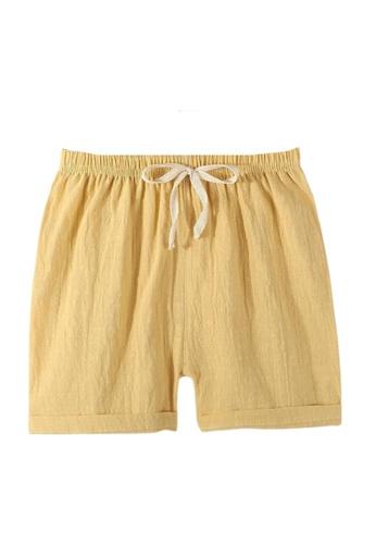 RAISING LITTLE yellow Mard Shorts 3B75EKA649BCCDGS_1