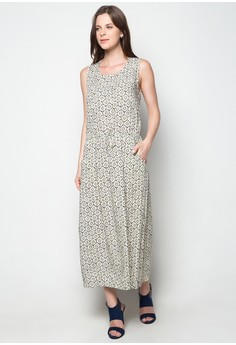 Full Print Long Dress