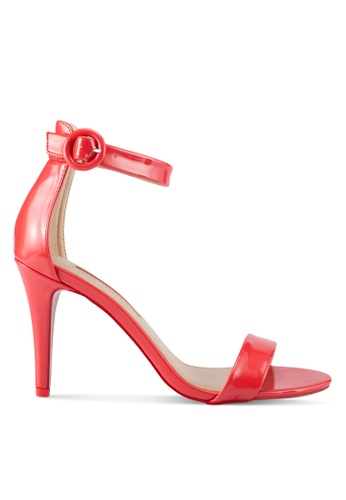 Dorothy Perkins red Red Bounce Heeled Sandals 7023ASH356E538GS_1