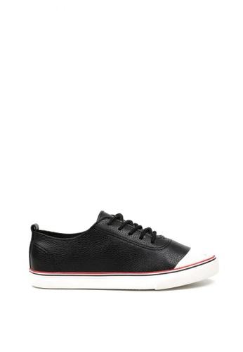 New York Sneakers black and white Brynn Low Cut Shoes NE675SH0JZREPH_1