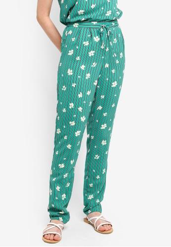 Pieces green Elli Pants F8F8EAA91F3F18GS_1