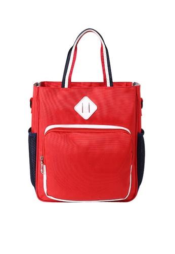 Twenty Eight Shoes red VANSA  Lightweight Nylon Hand Bags VAK-Lb810 7F2D8KCE532296GS_1