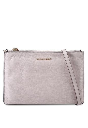 Michael Kors pink L Double Pouch Crossbody Bag (zt) 80037AC7DBCEBDGS_1