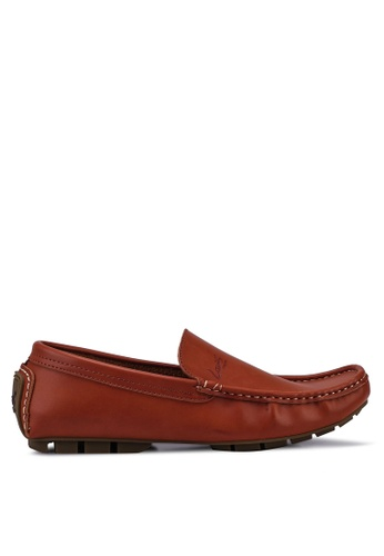 Louis Cuppers 褐色 Casual Loafers FA410SH46A7617GS_1