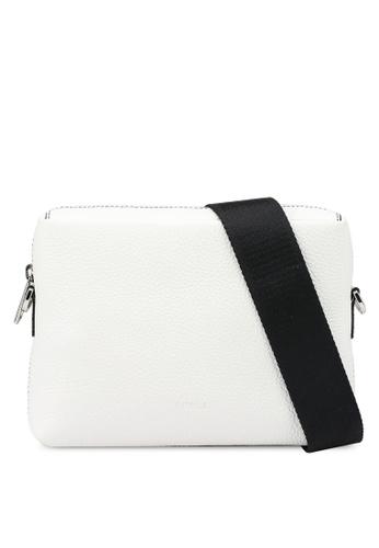 Furla white Mercurio S Crossbody Bag (nt) 972EAAC257960FGS_1