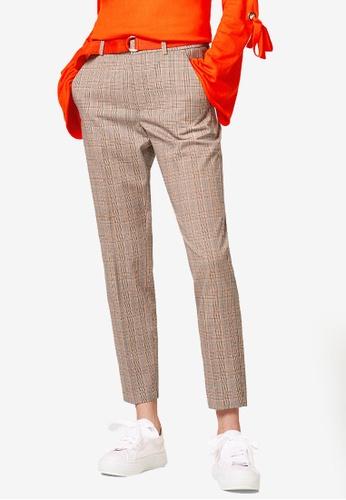 ESPRIT brown Denim Length Service Pants DB70EAA9591A83GS_1