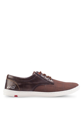 Louis Cuppers brown Basic Canvas Sneakers LO977SH85ZJMMY_1